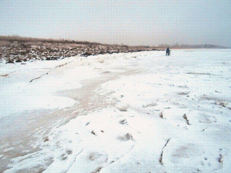 По льдам, у берегов ... В походе декабрьском, снежно-туманном,
