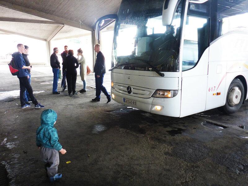 автобус чачак- белград на автостанции чачак