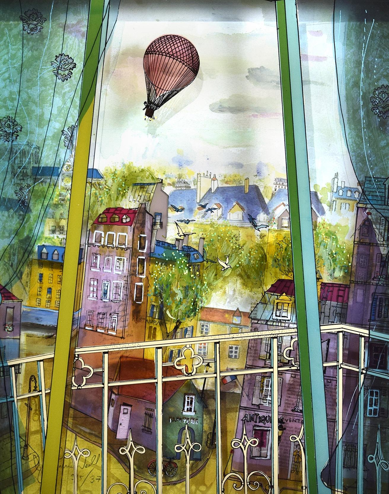 Жан-Пьер Вайль. Объемные картины на стекле.