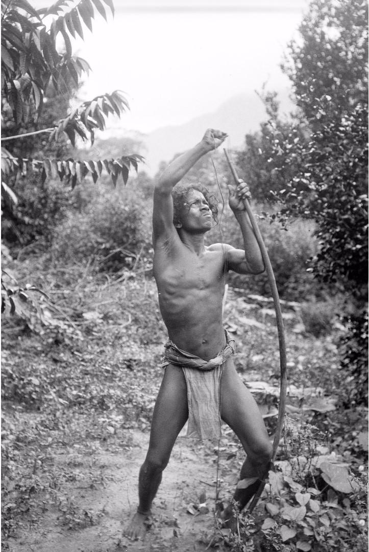 158. Человек с луком и стрелами