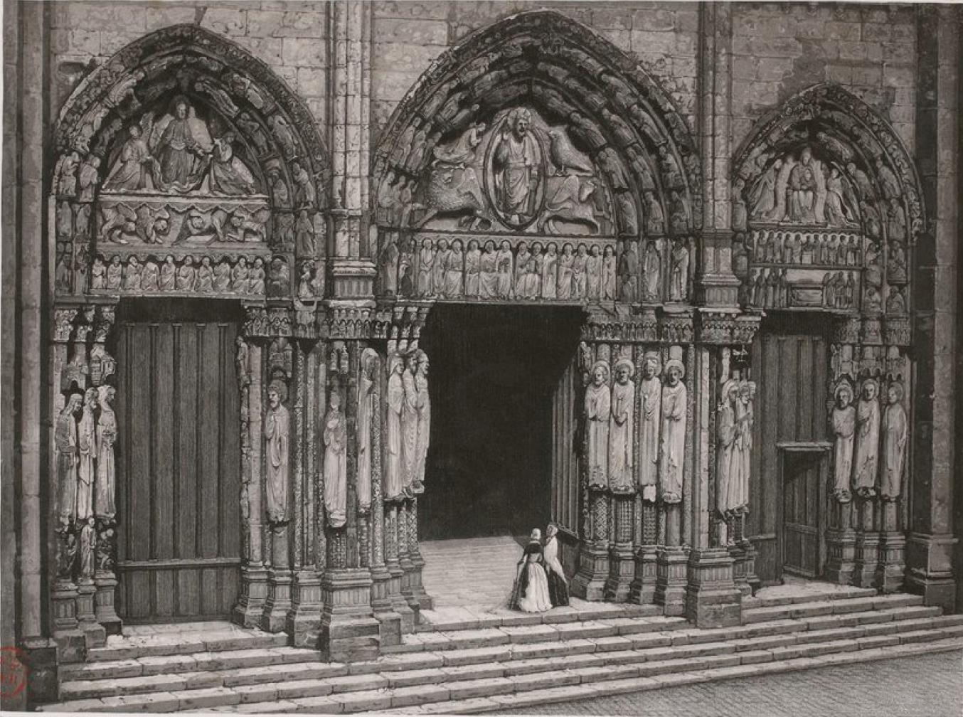 Франция. Шартрский собор