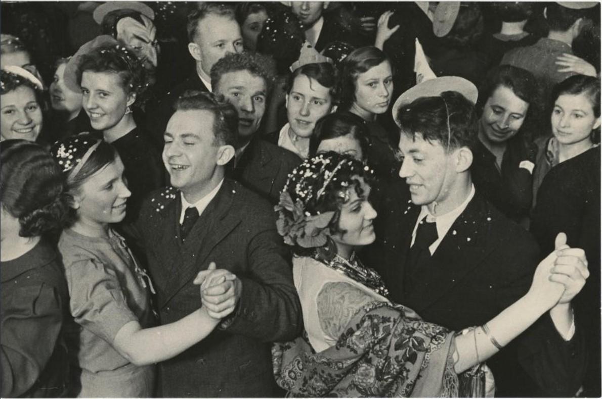 1948. Новогодний бал в Колонном зале Дома Союзов