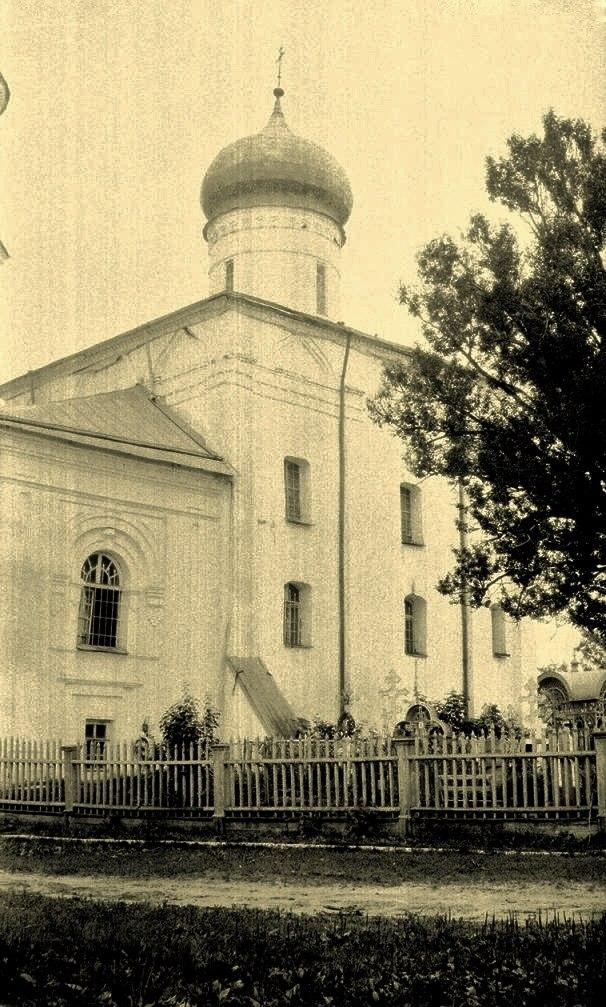 Преображенский собор. Вид на четверик с юго-запада.