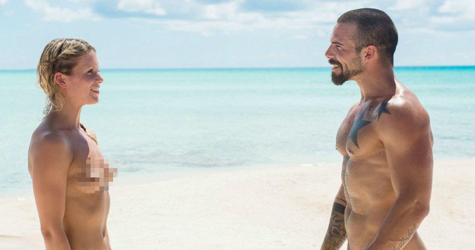 Участников нового немецкого телешоу «Адам ищет Еву» раздели догола