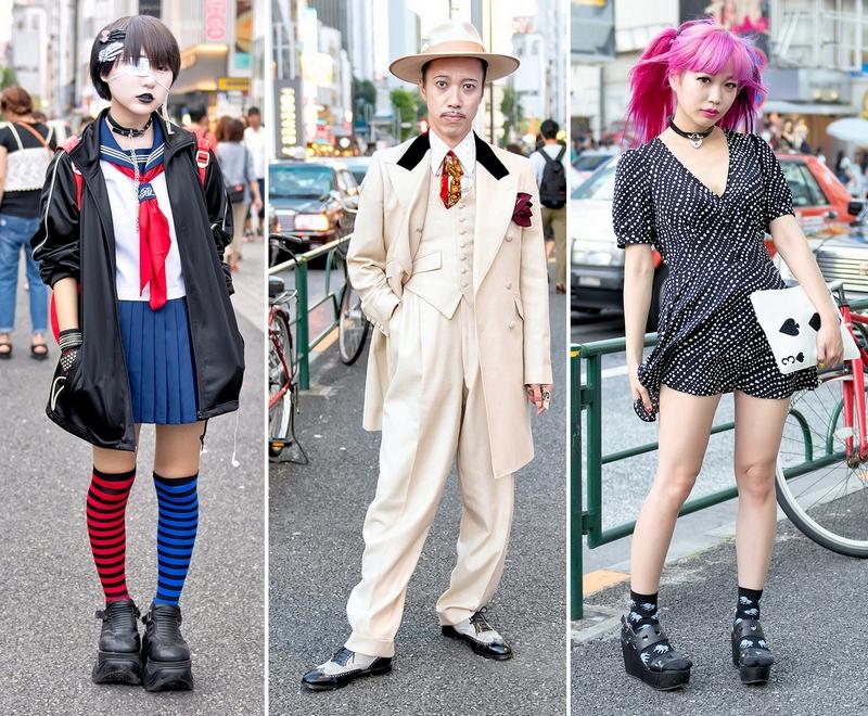 Модные персонажи на улицах Токио (01.11.16)