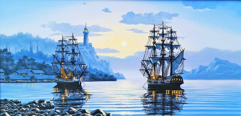 Тихая гавань ...