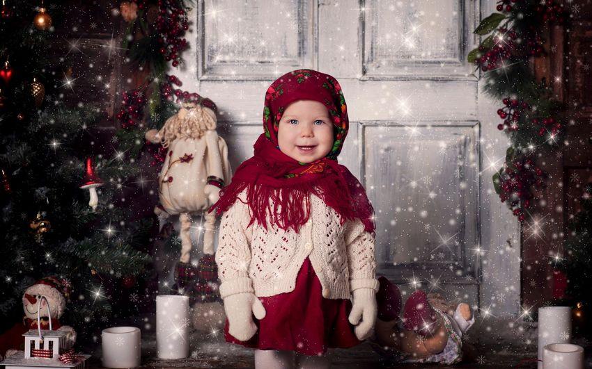 Новый год, праздник, дети, девочка, подарки, сказка