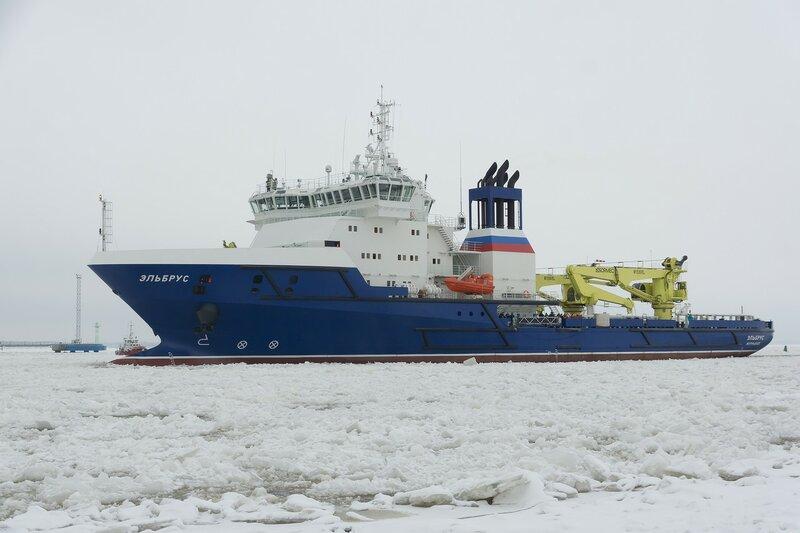2016-11-16 - Приход судна ТО 'Эльбрус' пр 23120
