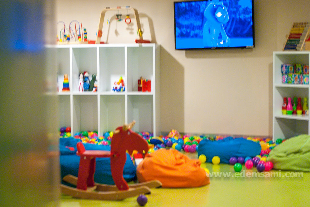 Детская комната в отеле Royal Cliff