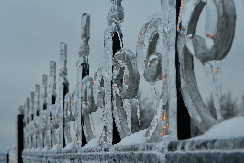 Такая зима