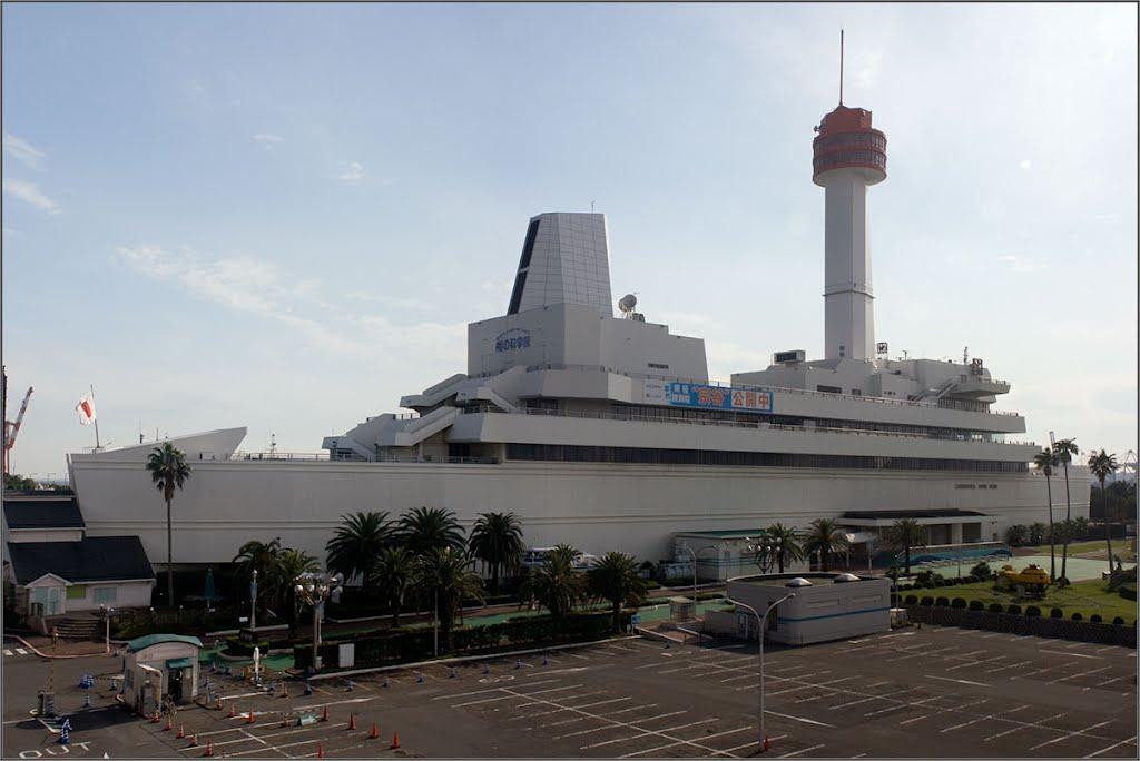Япония. Музей наук о море на острове Одайба в Токио