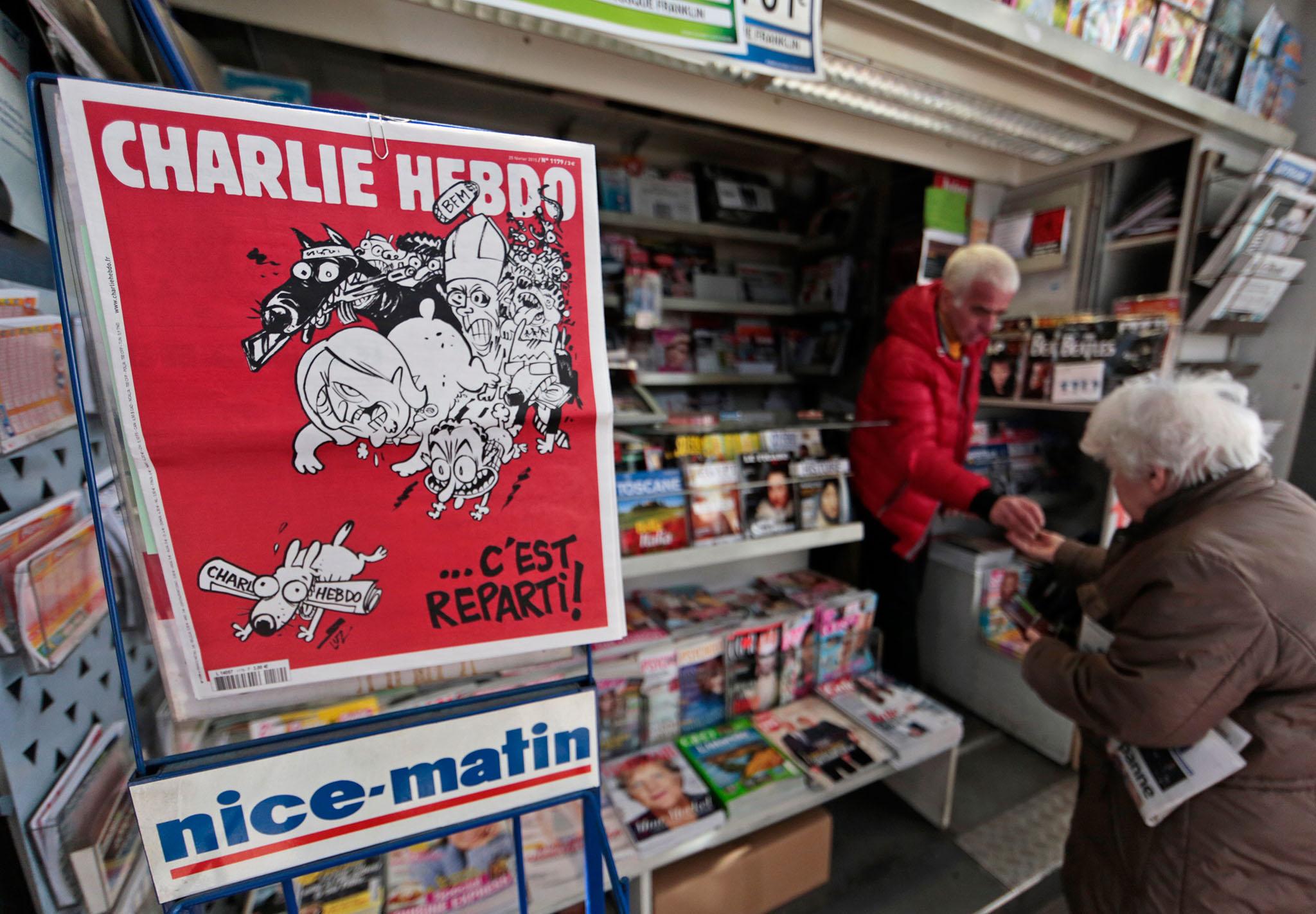 FRANCE-CHARLIE-HEBDO/