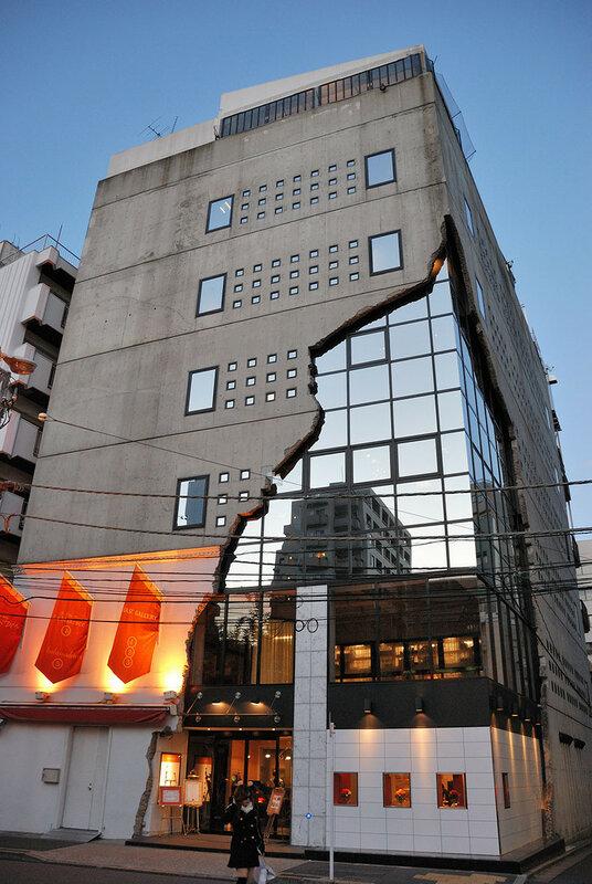 Необычна японская архитектура поражает с первого взгляда   33 фотографии