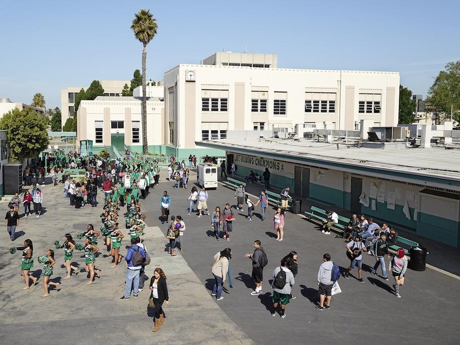 8.Инглвудская средняя школа, Инглвуд, Калифорния