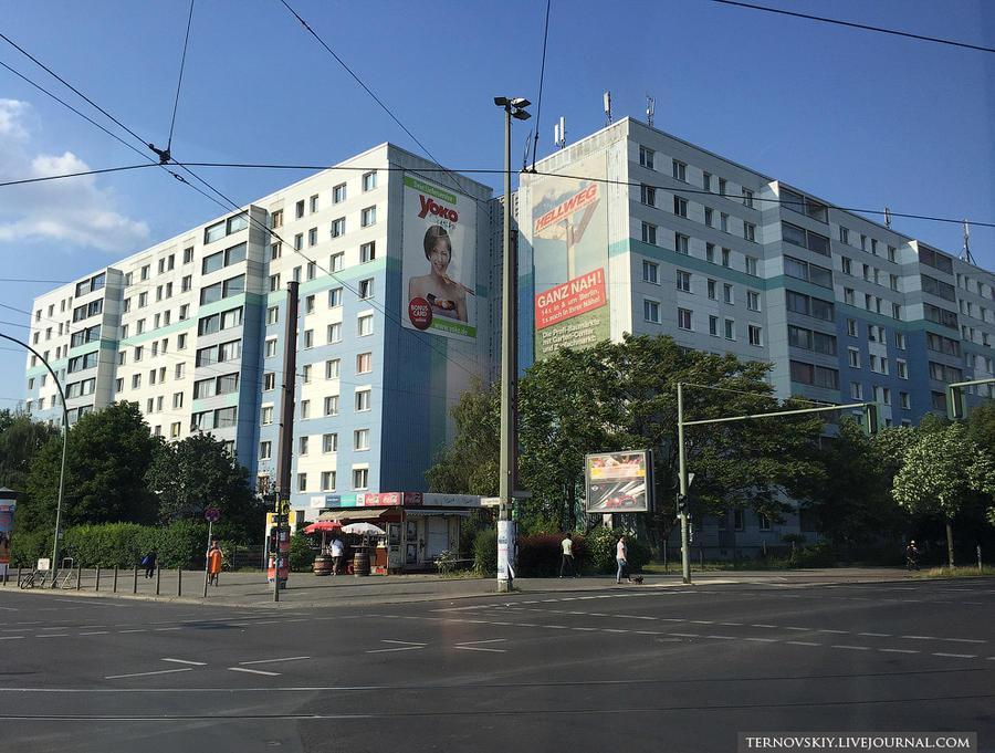 23. Восточный Берлин так это вообще как наше Бирюлево, чуть благоустроить (у нас) — и никаких различ