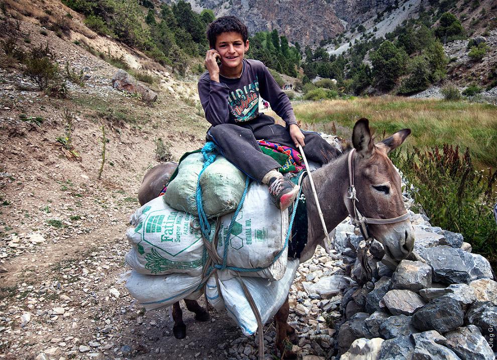 10. Таджикские крестьяне. Кстати, очень любят позировать и фотографироваться. Правда, потом про