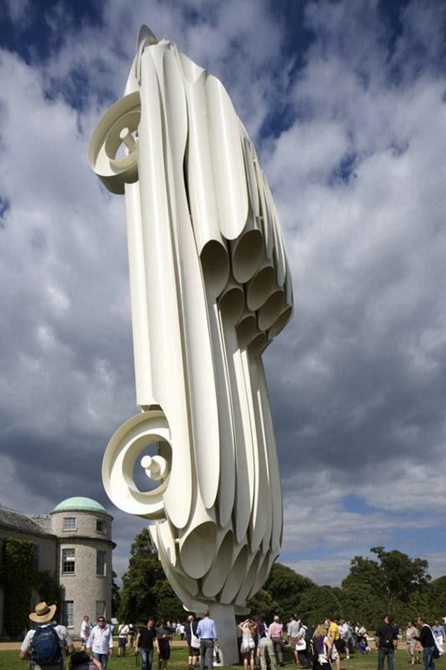 Выставка автомобилей «Ягуар», Великобритания.