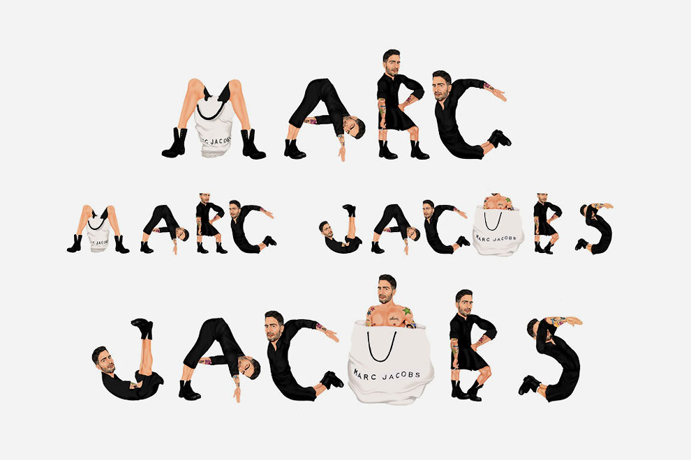 Марк Джейкобс в Marc by Marc Jacobs.