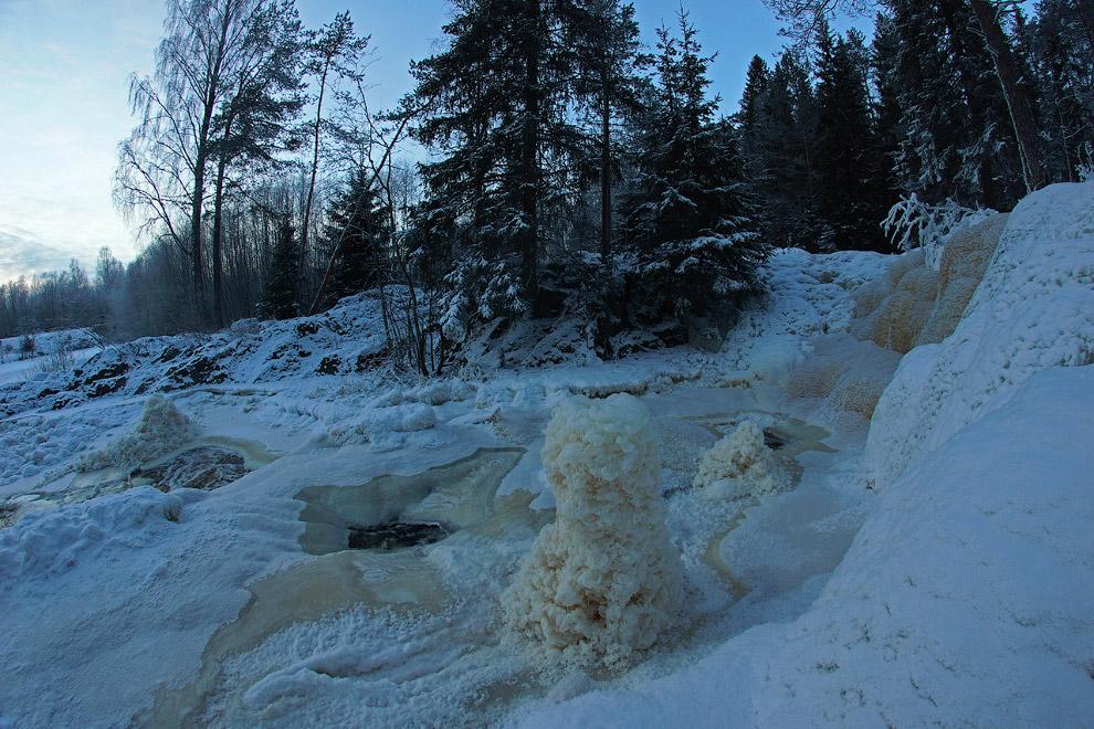 18. Это водопад Ахвенкоски. Часто я проезжал мимо и почти всегда останавливался, поэтому покажу