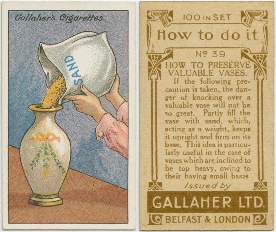 15. Как сохранить дорогую вазу Дорогие вашему сердцу вазы обладают магическим свойством притягивать