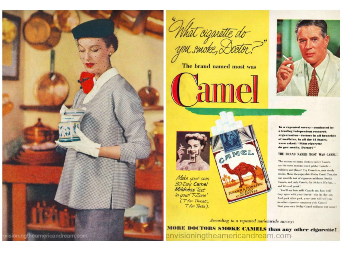 9. Курите сигареты! Сложно поверить, но вплоть до второй половины XX века доктора не предупреждали б