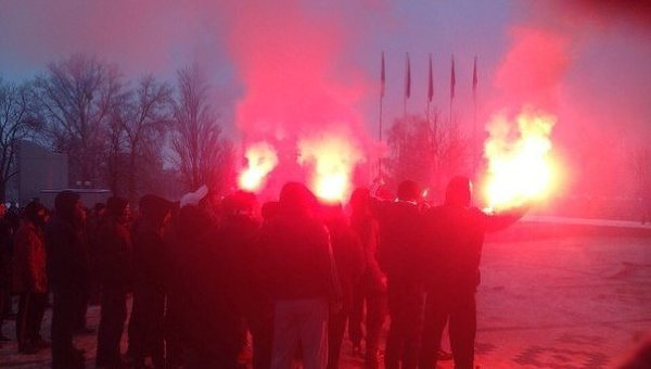 Болельщики скандировали «зиг хайль» наматче чемпионата Украины пофутболу