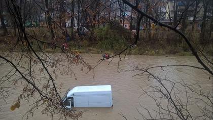 Непогода наЗакарпатье вызвала наводнение иоползни