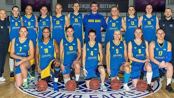 Женская сборная Украины вышла наЕвробаскет