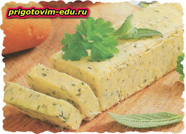Зеленое масло домашнего приготовления