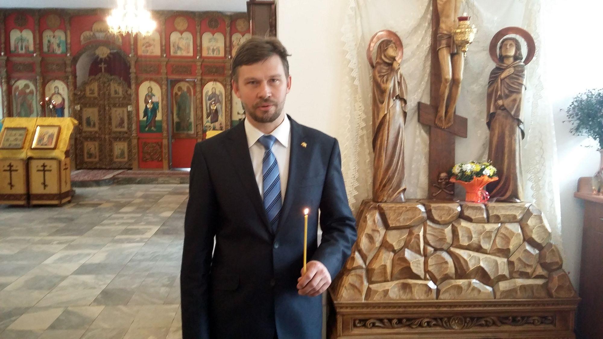 Начальникъ Россiйскаго Имперскаго Союза-Ордена Дмитрiй Алексѣевичъ Сысуевъ
