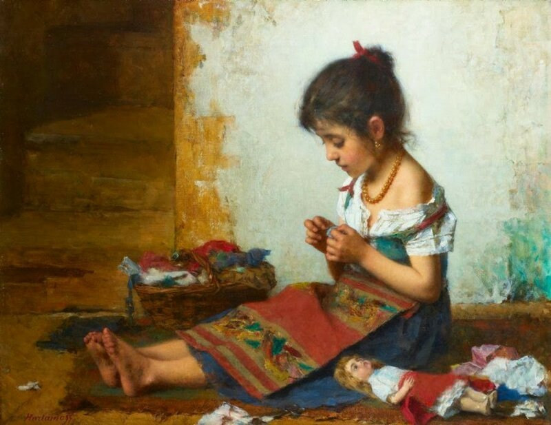 4 harlamoff little seamstress..jpg