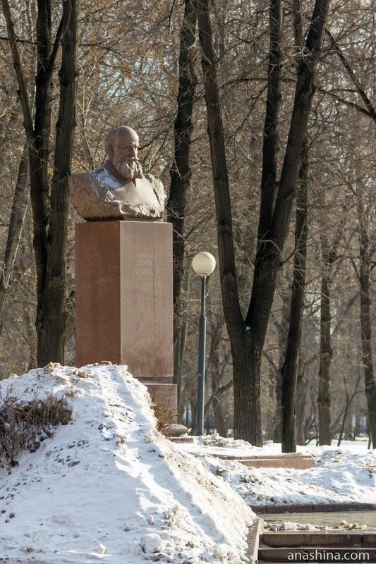 Бюст Н.Е.Жуковского