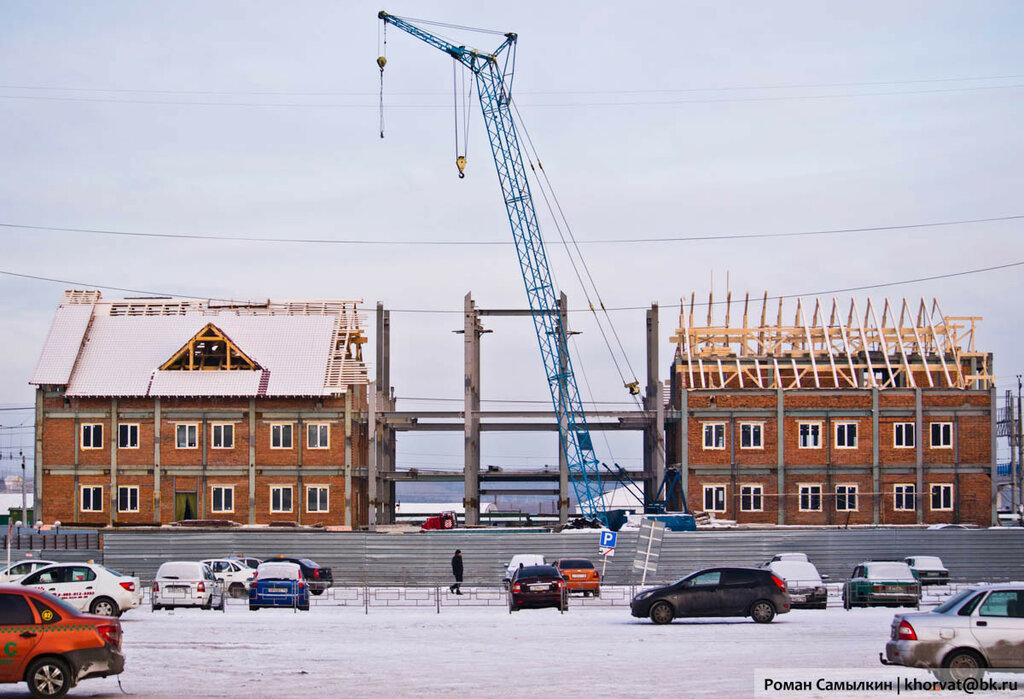 Строительство нового ЖД-вокзала в Белово