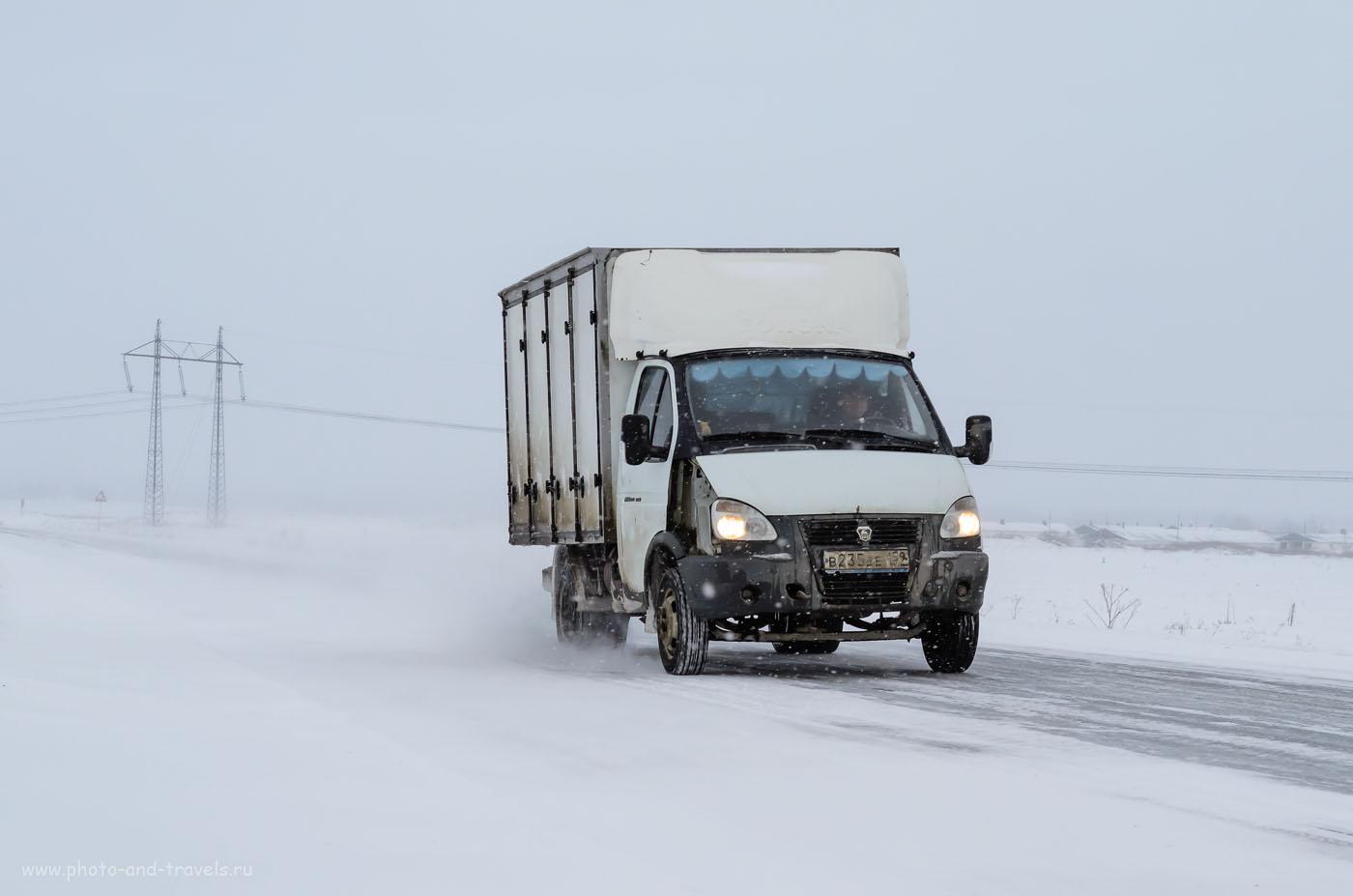 Фото 3. Зеркалка Nikon D5100. Объектив Nikkor 17-55/2.8. На российских дорогах зимой. (1/800 сек, f/8, 45 мм, 640)