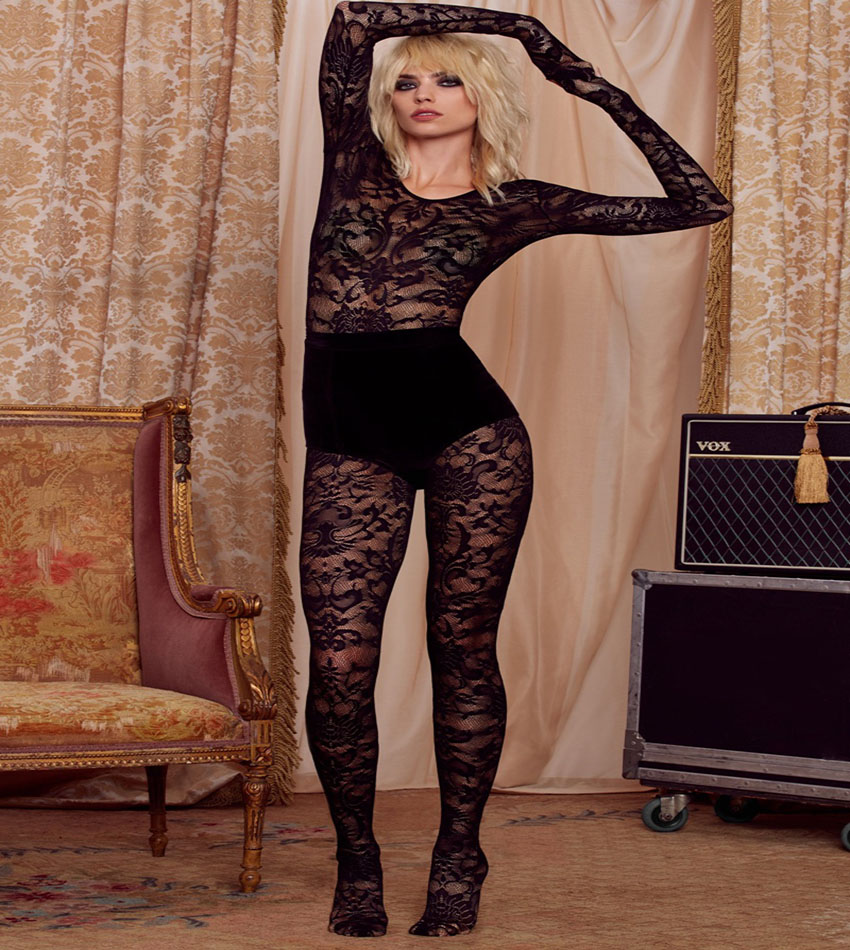 Hailey Clauson - Love, Courtney by Nasty Gal collaboration for Holiday 2016 Lookbook