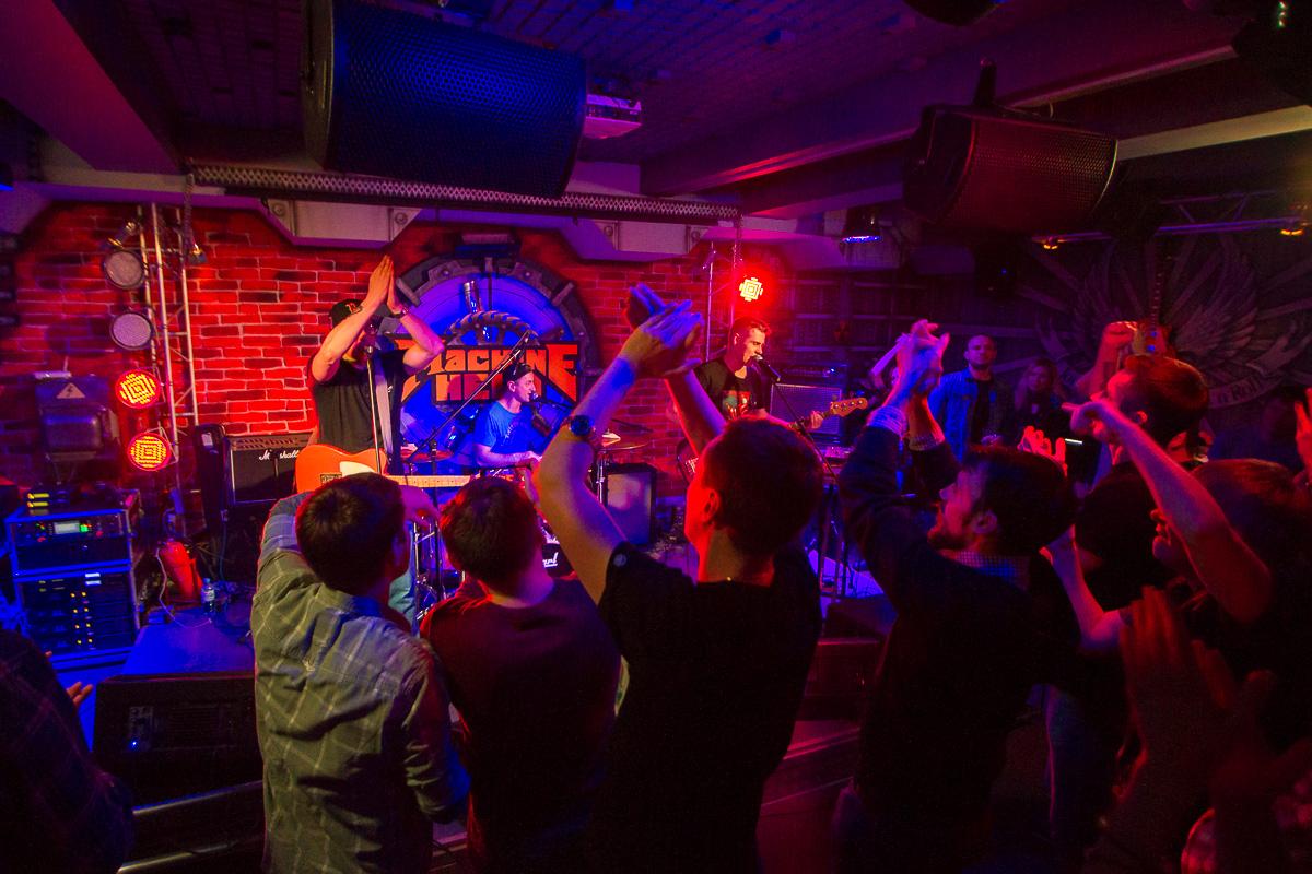 концерт группы Кирпичи, Machine Head 04.11.2016 фото 15
