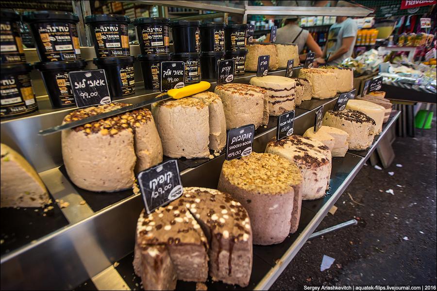 Рынок в Тель-Авиве