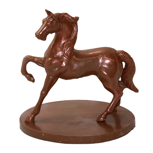 """Шоколадный конь """"Буцефал""""."""