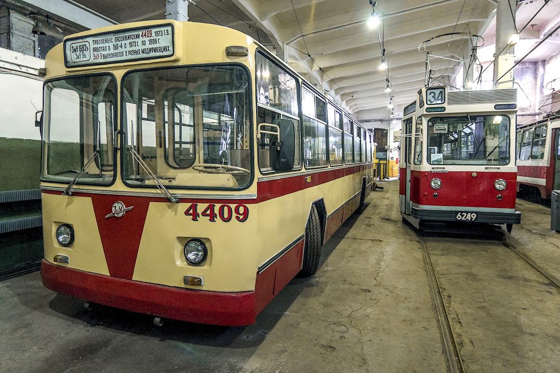 Петербургский музей электротранспорта // Троллейбусы и пр.