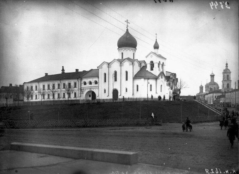 Старообрядческий храм Св. Николы Чудотворца на Варгунихиной горе 1917.jpg
