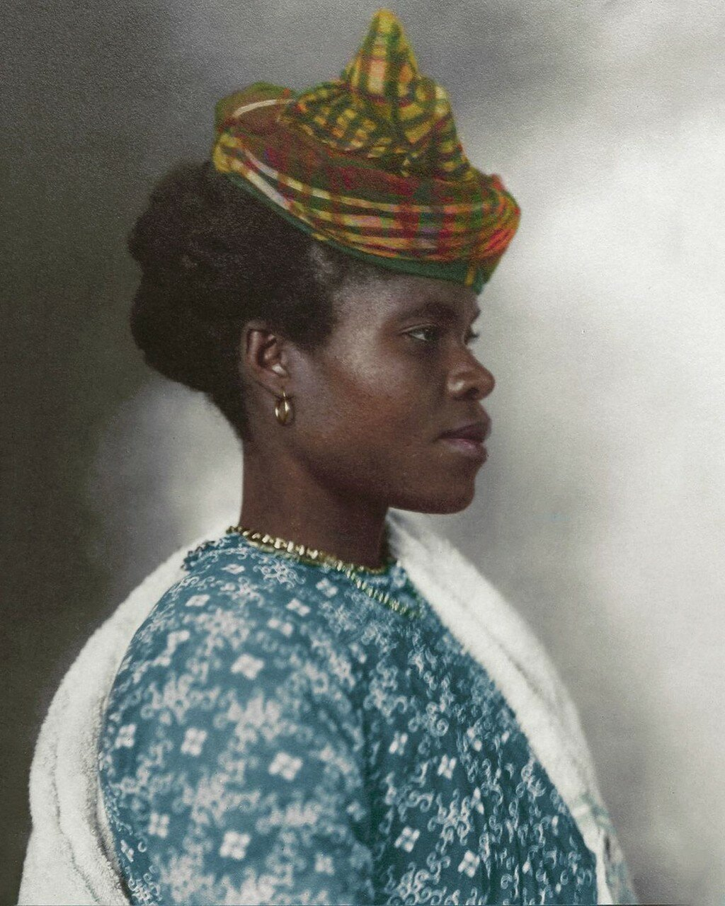 Девушка из Гваделупы. 1911