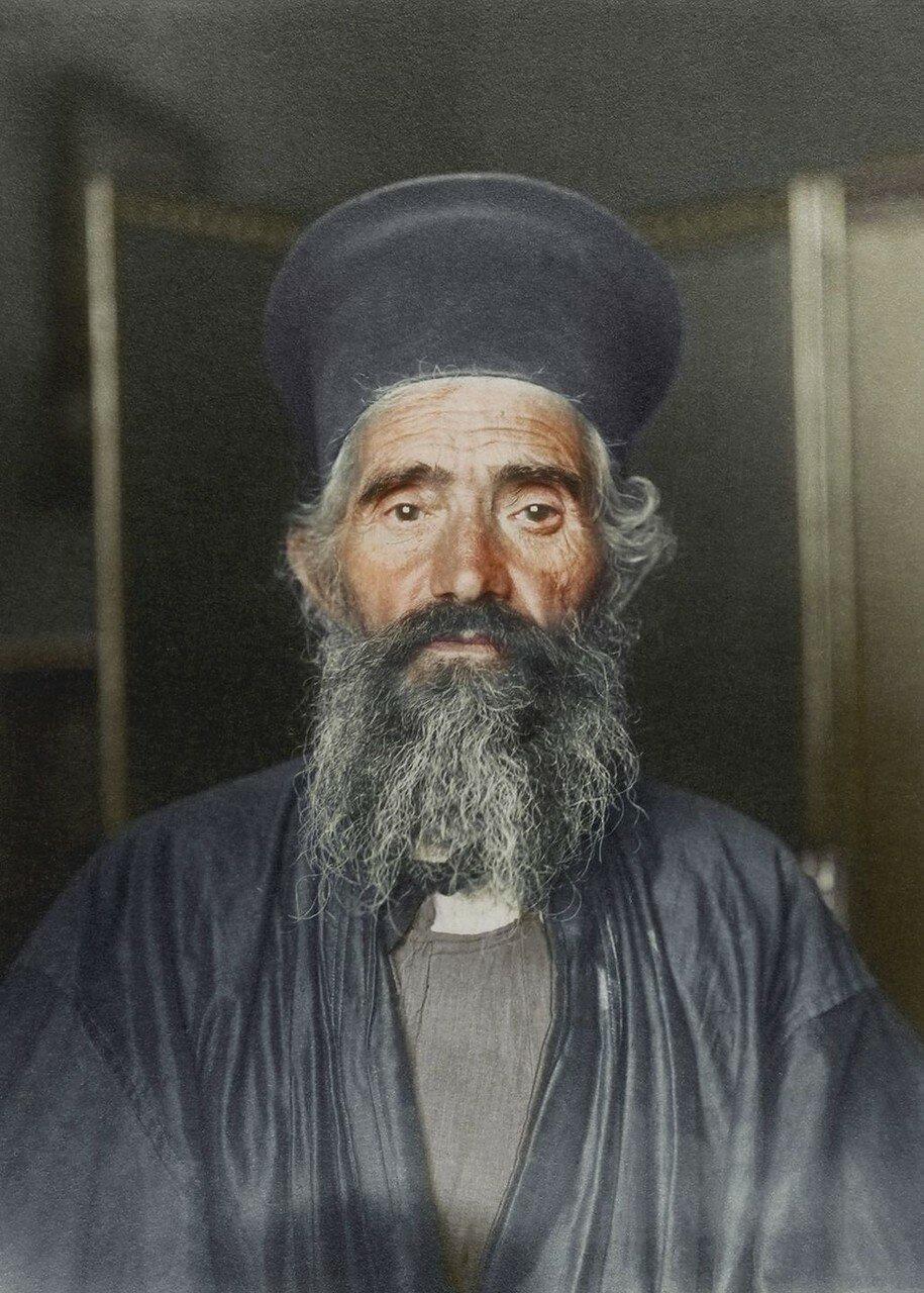 Православный священник Иосиф Василон из Греции. 1910
