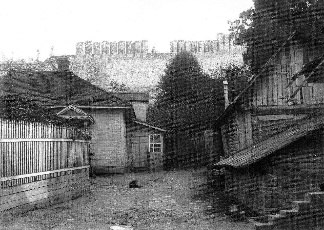 Крепостная стена близ Малого Пятницкого пролома. 1909