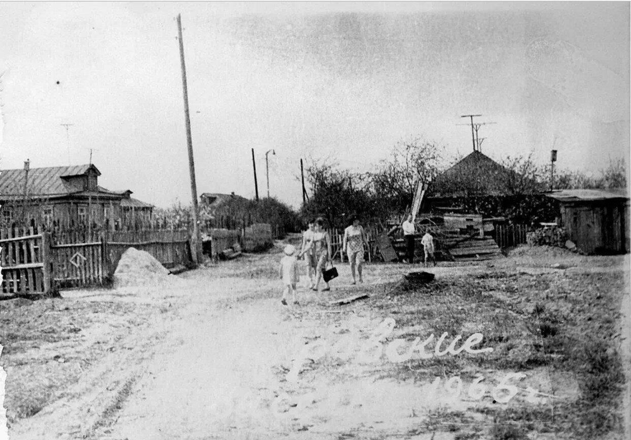 1965. Бирюлёвский хутор