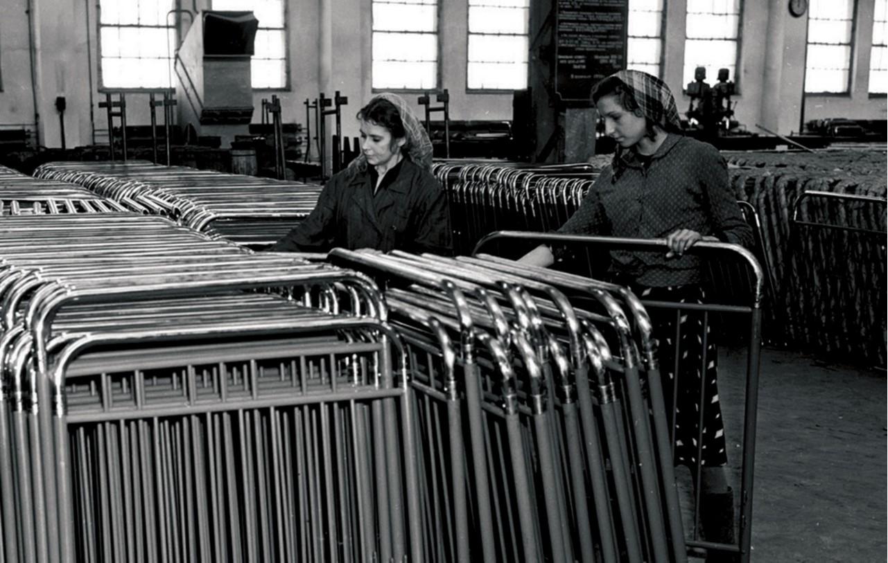 Челябинск. Производство товаров народного потребления на предприятиях Министерства местной промышленности (1951)