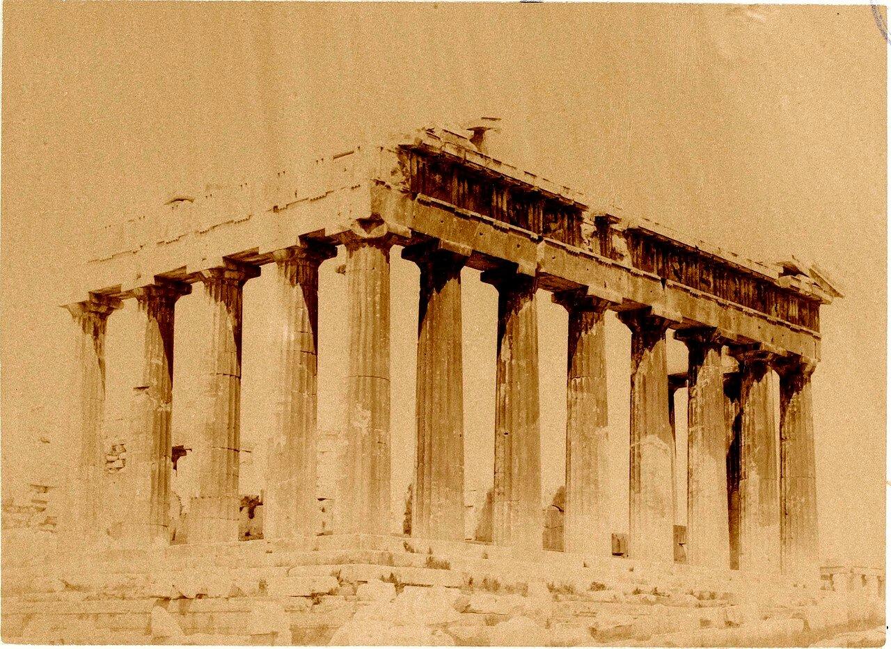 43. Афины. Восточный угол Парфенона