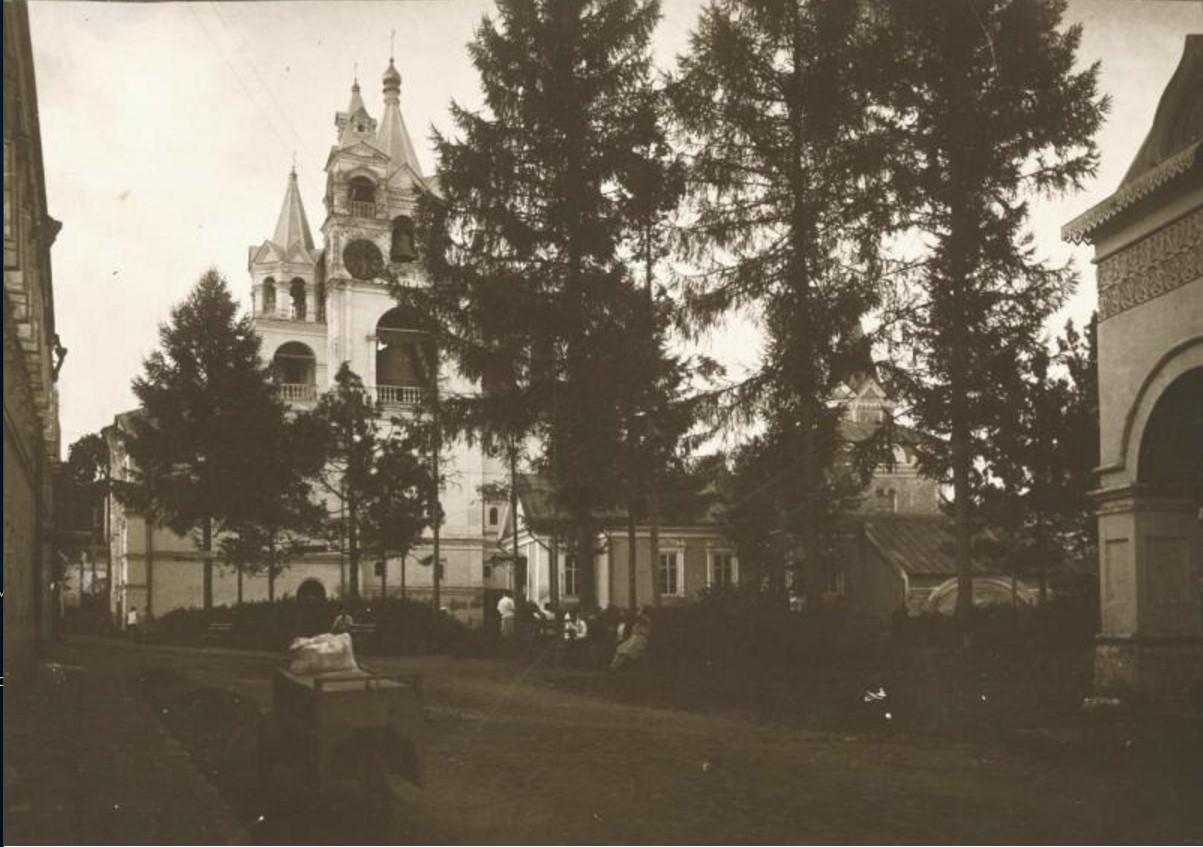 Саввино-Сторожевский монастырь. Звенигород. 1890-е