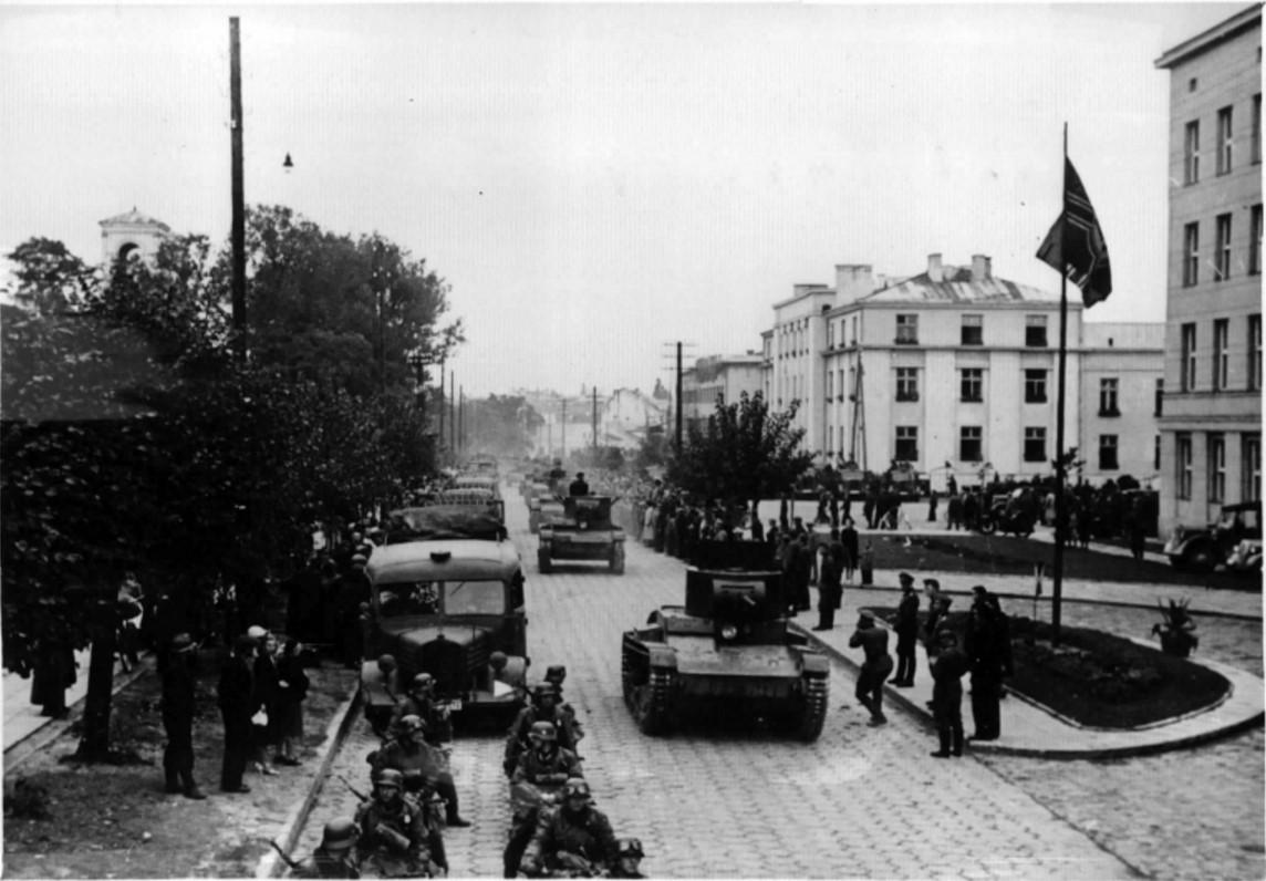 1939. Парад советских и германских войск в Бресте