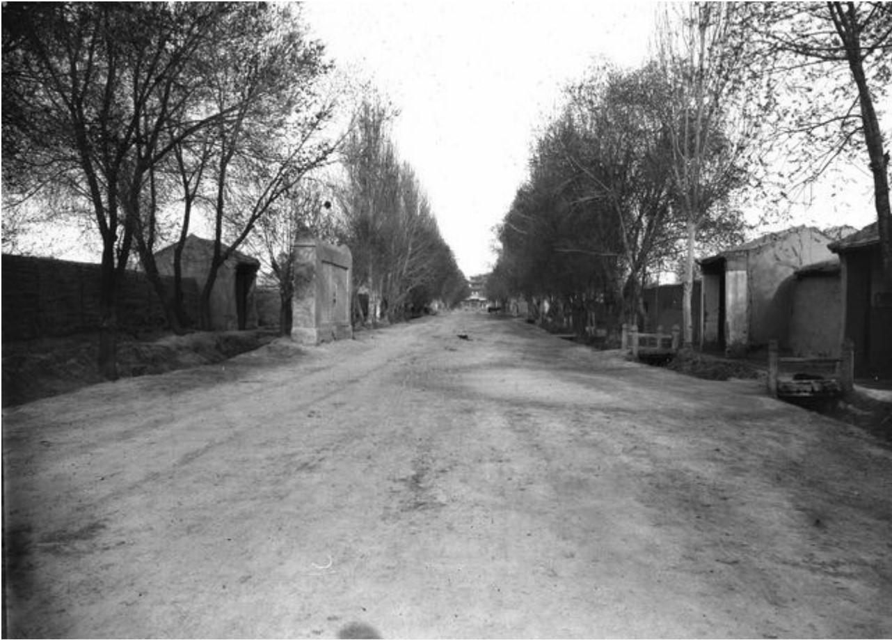 Ваншуганг. Городская улица