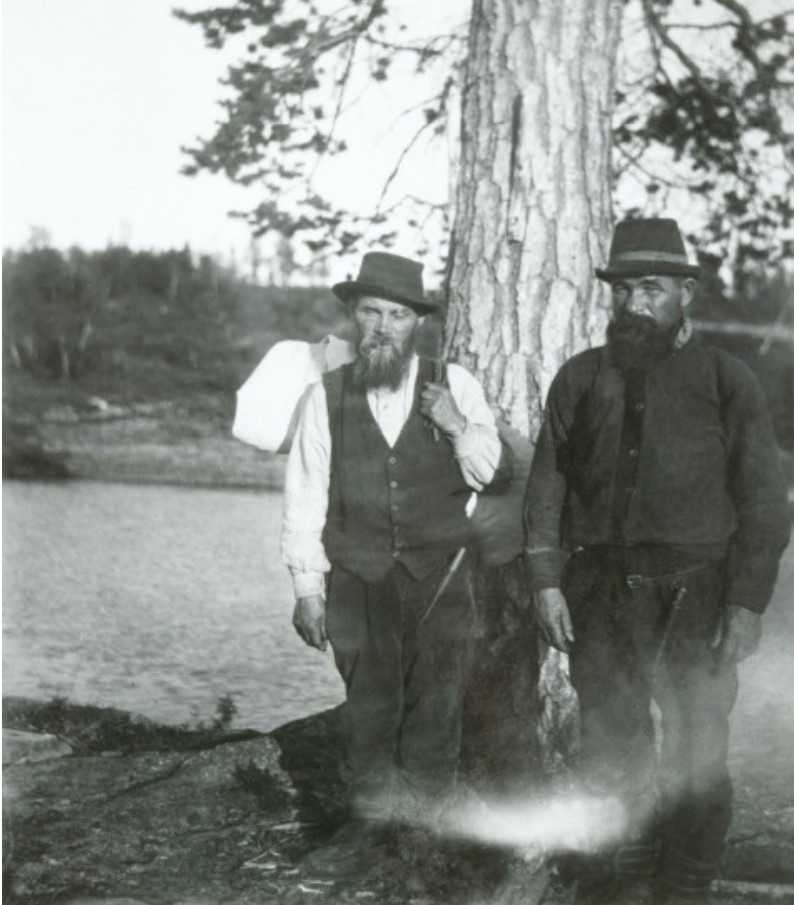 Двое мужчин